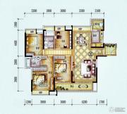 保利西海岸4室2厅2卫147平方米户型图