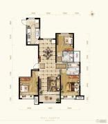 保利花园3室2厅2卫113--138平方米户型图