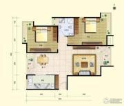 8哩岛2室2厅0卫89平方米户型图