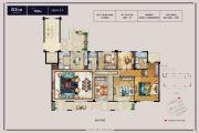 华鸿・万象公馆5室2厅2卫169平方米户型图