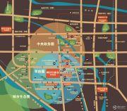 阿尔卡迪亚・荣盛城交通图