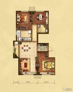 阅海壹号院3室2厅1卫0平方米户型图