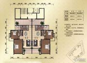城市假日E区2室2厅1卫62--79平方米户型图