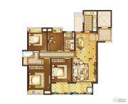 复地宴南都4室2厅2卫140平方米户型图