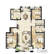 尼德兰花园3室2厅2卫0平方米户型图