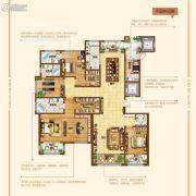 奥北公元4室2厅2卫260平方米户型图