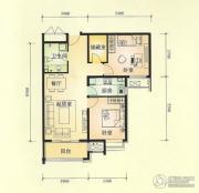 中景盛世长安2室2厅1卫0平方米户型图