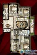 西单上国阙4室2厅2卫0平方米户型图