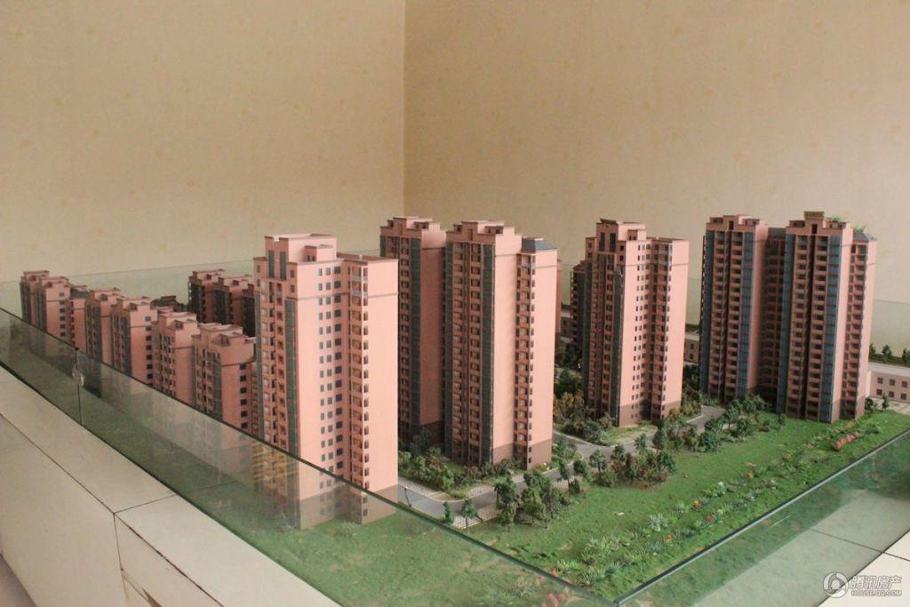 金色国际城项目沙盘图