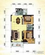 冠亚・国际星城1室2厅1卫79平方米户型图