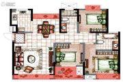 星城湾3室2厅2卫102平方米户型图
