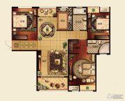 城泰威尼斯江域3室2厅2卫0平方米户型图