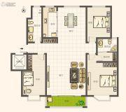 圣亚・绿溪园3室2厅1卫136平方米户型图