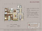 大学小筑5室2厅3卫270平方米户型图