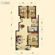 保利香槟国际3室2厅0卫109平方米户型图
