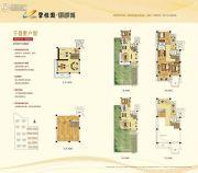 碧桂园御湖城5室3厅3卫135平方米户型图