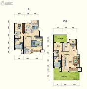 清水湾・幸福枫景5室3厅3卫0平方米户型图