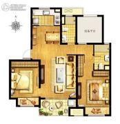 万科MixTown2室2厅2卫0平方米户型图