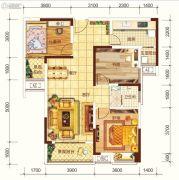 海宏江南壹号3室2厅1卫109平方米户型图