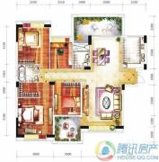 雅居乐十里花巷4室2厅2卫157平方米户型图