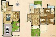 毕加索花园小镇3室2厅3卫0平方米户型图