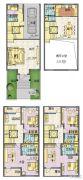 星威园 别墅5室2厅4卫266平方米户型图