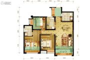 隆鑫十里画卷3室2厅2卫100平方米户型图