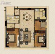 玉兰广场3室1厅1卫140平方米户型图