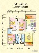 锦绣东城2室2厅1卫81平方米户型图