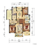 保集湖海塘庄园3室2厅2卫130平方米户型图