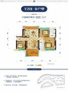 碧桂园・生态城3室2厅2卫121平方米户型图