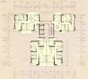 榕江四季城3室2厅2卫119--142平方米户型图