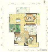 海客瀛洲2室2厅2卫112平方米户型图
