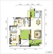 圣城华府2室2厅0卫0平方米户型图