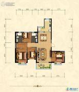 沧州恒大城4室2厅2卫156平方米户型图
