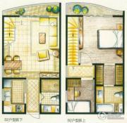 洱海国际生态城3室2厅2卫0平方米户型图