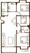 宝泰花园3室2厅2卫111--112平方米户型图