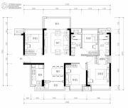 海伦堡・熙岸4室2厅2卫120平方米户型图