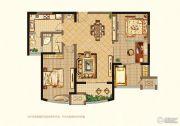 万泰国际广场檀香湾4室2厅1卫103平方米户型图