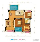两江春城0室0厅0卫99平方米户型图