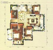俊发・九夏云水4室2厅2卫170平方米户型图