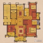 公元世家4室2厅2卫139平方米户型图
