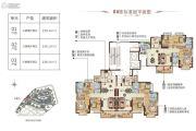 肇庆恒大鼎湖豪庭115--133平方米户型图