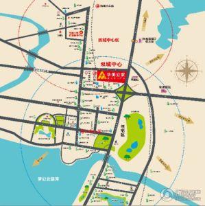 华美立家建材家居广场交通图
