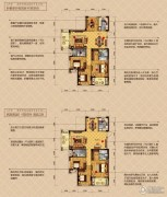 顺发吉祥半岛3室2厅2卫131平方米户型图