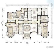 青岛星河湾5室3厅0卫692平方米户型图