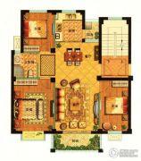 秀山菜市场3室2厅1卫95平方米户型图