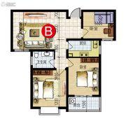 运和天成3室2厅1卫0平方米户型图