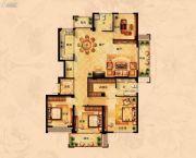 丁香花园4室2厅2卫167平方米户型图