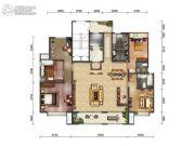 绿地・海珀天沅3室2厅3卫242平方米户型图